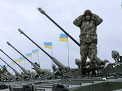 Global powers show their force in Ukraine