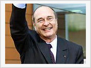 Jacques Chirac will see secret Russian space center