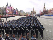 Military parade in Moscow's Red Square marks the start of Victory Day celebrations