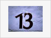 Fear of number 13 develops triskaidekaphobia and ridiculous sarcasm