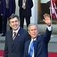George W. Bush's visit to Georgia causes unbelievable public excitement