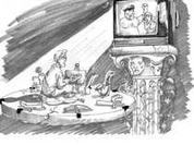 Homo TV addict