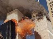 Bloody Masonic fingerprints left on 9/11 crime scene