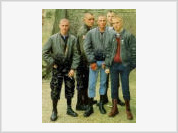 Young men become skinheads following their friends' example