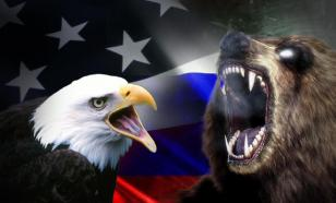 The US eagle can never beat the Russian bear