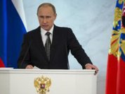 Putin: Russia will never follow instructions from the West