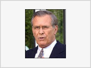 Rumsfeld is laying low these days