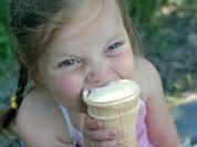Ice cream makes people happy
