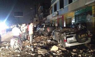 Russia sends 30 tons of humanitarian cargo to quake-stricken Ecuador