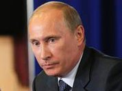 Putin still out of competition