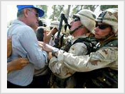 US troops forbade Russian citizens in Iraq to leave?