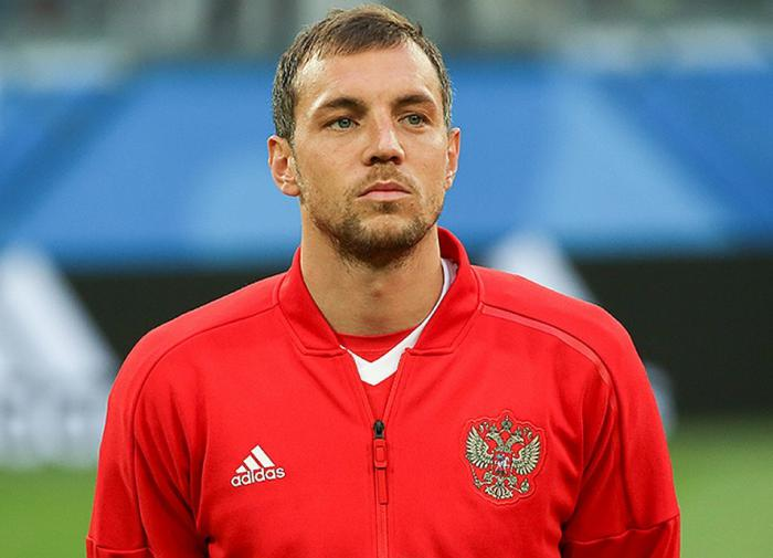 Russian footballer Artem Dzyuba blackmailed over intimate video