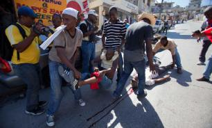 In Haiti, protesters ask Putin to help