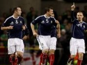 Injury-hit Scotland warms up for Brazil