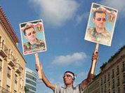 Who sets Lebanon against Syria?