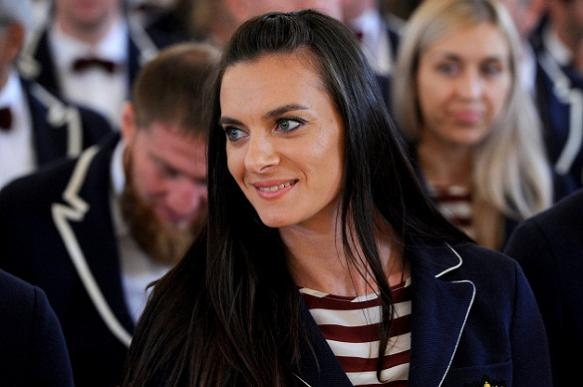 Forgive them, Yelena Isinbayeva. They don't know what they do