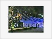 Tour bus with Russian tourists crashes in France killing 4