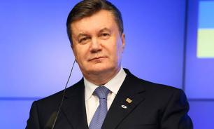 Yanukovych accused sitting Ukrainian government of starting war