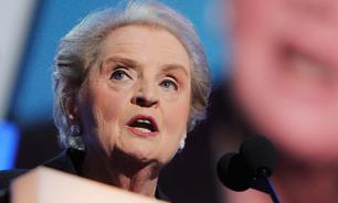 How Albright's monkey makes Putin angry