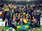 In Rome, Brazil walks over Cuba and makes history winning third Volleyball World Cup