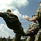 Russian Army is well-trained: Desire to check paratroopers' reaction cost two students their teeth