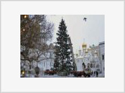 A Magnificent Fir Tree for Moscow's Holidays