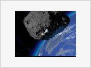 Asteroid Apophis, spirit of evil and destruction, approaches Earth