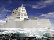 USA frightens China with super destroyer. China laughs