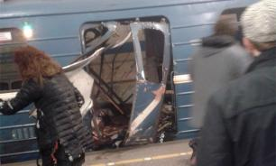 St. Petersburg metro bombings caused by self-made explosive devices