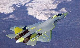Su-57 fifth-generation fighter equipped with laser turrets to blind enemy