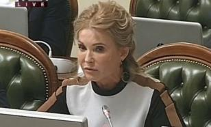 Yulia Tymoshenko comments on her new image