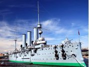 Russia's iconic Aurora cruiser publicly disgraced