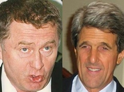 Zhirinovsky and John Kerry: Israel must build the Wall