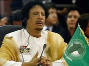 Reason for war? Gaddafi wanted to nationalise oil