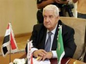 Foreign Minister says Syria rejects outside interference