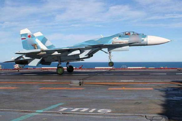 Russian aircraft carrier loses another fighter jet in Mediterranean Sea