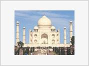 Taj Mahal, India's national symbol, lost many of its priceless treasures through centuries