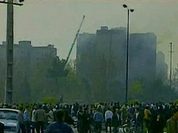 Military plane crashes in Tehran's residential area, killing 119