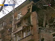 Powerful blast rips through apartment block in Moscow