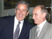 George W. Bush unwilling to quarrel with Putin