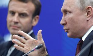 Putin sends telegram to Macron after Notre Dame fire: Russia ready to help