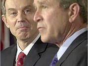 Bush and Blair: Self-righteous insolence