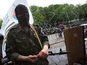 Novorossia victory! Prisoners paraded