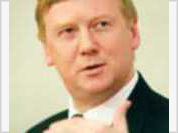 Chubais sleeps tight