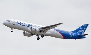 Russia's new passenger airliner MS-21-300 shows good flight test results