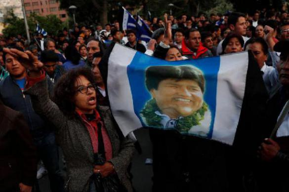 Evo Morales should sue USA and Trump for the color revolution