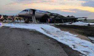 Sukhoi Superjet 100 fire at Moscow airport: 41 killed during hard landing