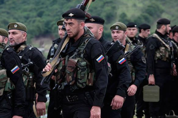 Chechen special forces dispatched to fight against ISIS