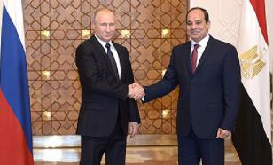 Putin: Russia is ready to launch direct air communication with Egypt