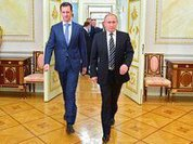 Syrian President Assad conducts closed talks with Putin in Moscow